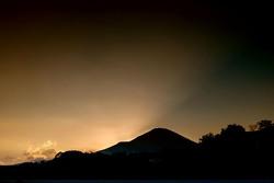 Zonsondergang over Fuji Speedway