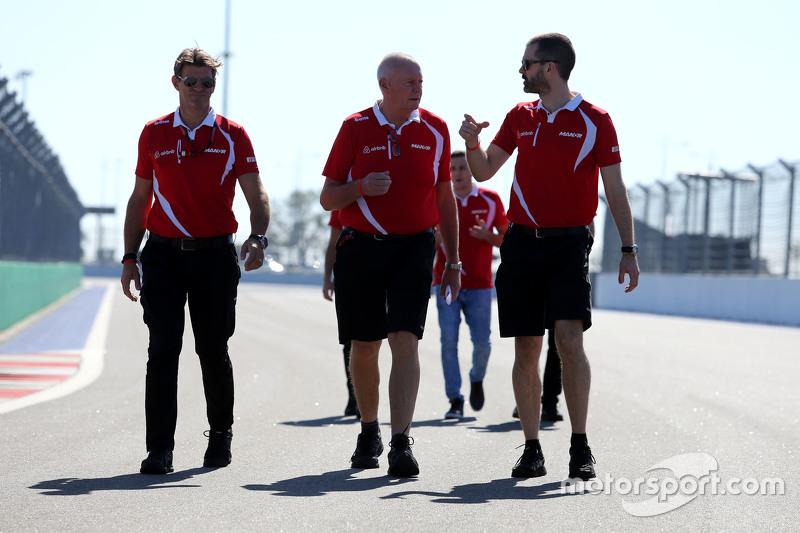 John Booth, Manor F1 Team, Graeme Lowdon, Manor Marussia F1 Team