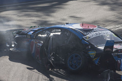 Chaz Mostert, Prodrive Racing Australia Ford crash
