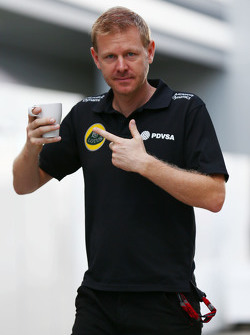 Andy Stobart, Lotus F1 Team Press Officer
