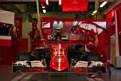 Машина Ferrari SF15-T Кими Райкконена, Ferrari