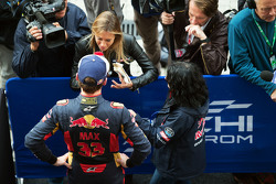Max Verstappen, Scuderia Toro Rosso met de media