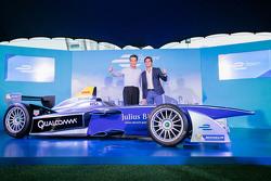 Auto de fórmula E en Hong Kong con Nelson Piquet Jr.