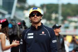 Фелипе Наср, Sauber F1 Team на параде пилотов