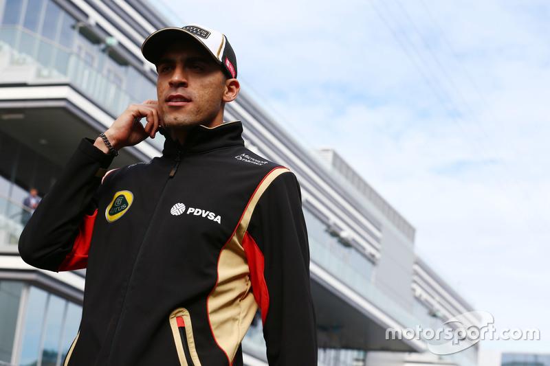 Пастор Мальдонадо, Lotus F1 Team на параді пілотів