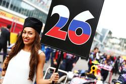 Грид-гёрл Даниила Квята, Red Bull Racing
