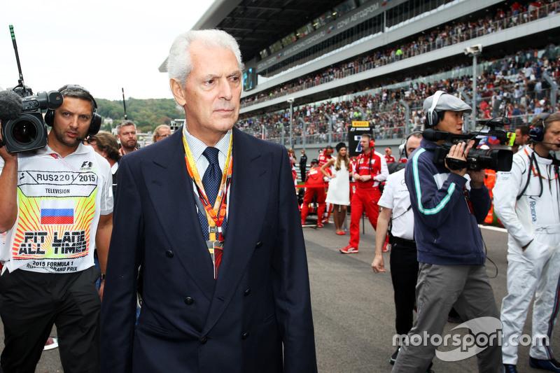 Pirelli President Marco Tronchetti Provera