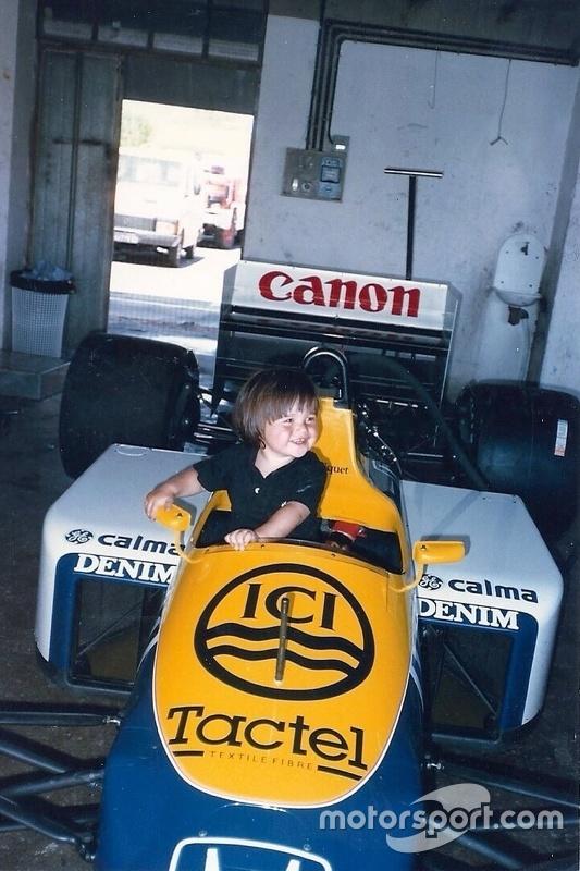 Nelsinho Piquet criança