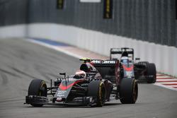 Дженсон Баттон и Фернандо Алонсо, McLaren
