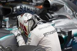Winner Lewis Hamilton, Mercedes