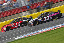 Cole Whitt, Front Row Motorsports Ford and Brian Scott, Chevrolet