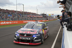Craig Lowndes and Steven Richards, Triple Eight Race Engineering Holden takes the win