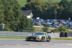 #42 HP Racing, Mercedes-Benz SLS AMG GT3: Harald Proczyk, Andreas Simonsen