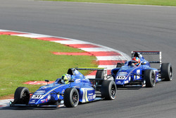 Lando Norris, Carlin and Colton Herta, Carlin