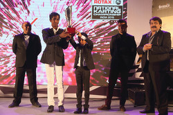 Nirmal Umashankar, dan Ruhaan Alva get the Akbar Ebrahim trophy for the most improved driver of the year