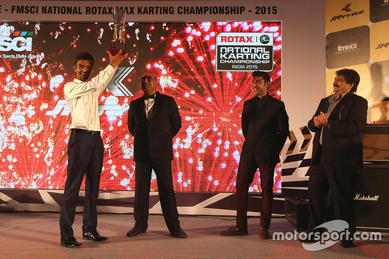 Mohammed Zain Ali best newcomer  year