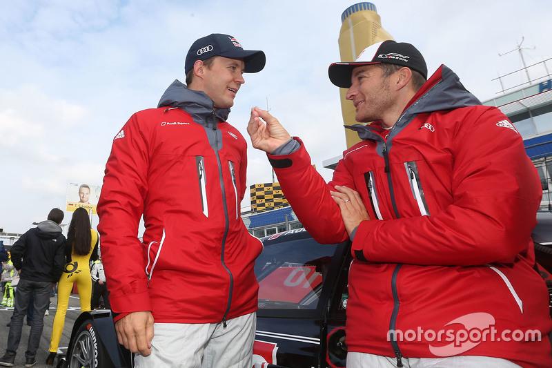Mattias Ekström, Audi Sport - Takım: Abt Sportsline, Audi A5 DTM ve Timo Scheider, Audi Sport - Takım: Phoenix Audi RS 5 DTM