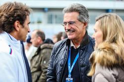 Alex Zanardi Dr Mario Theissen of BMW