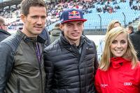 Себастьєн Ожьє, Volkswagen Motorsport та Макс Ферстаппен , Scuderia Toro Rosso з подругою Мікаела Алін-Коттулінскі