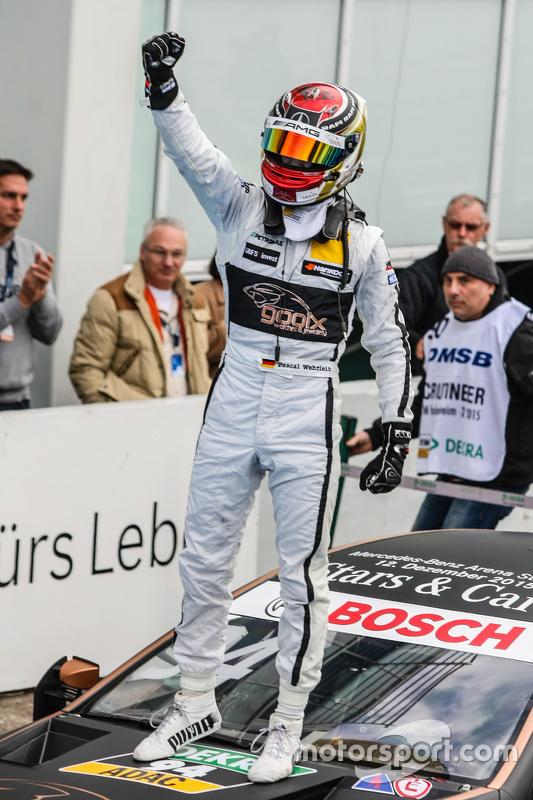 DTM Champion Pascal Wehrlein , HWA AG Mercedes-AMG C63 DTM