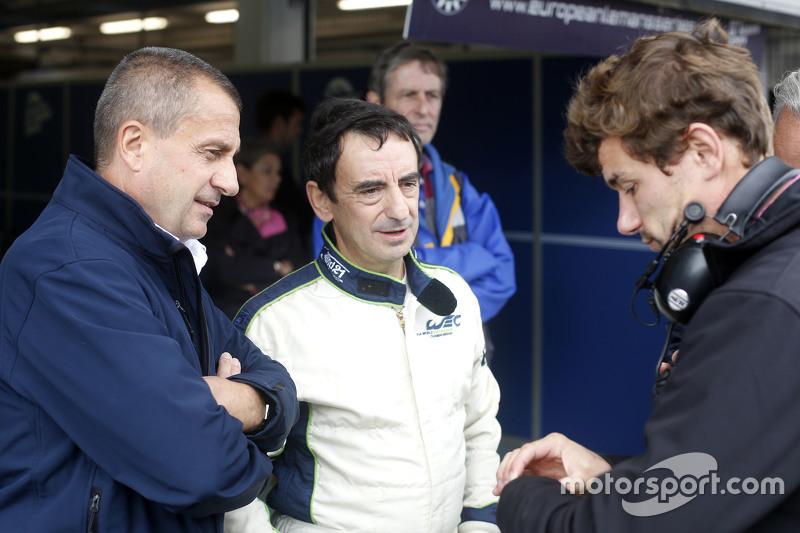 П'єр Фійон, Президент  ACO тестує Ligier JS P3 - Nissan
