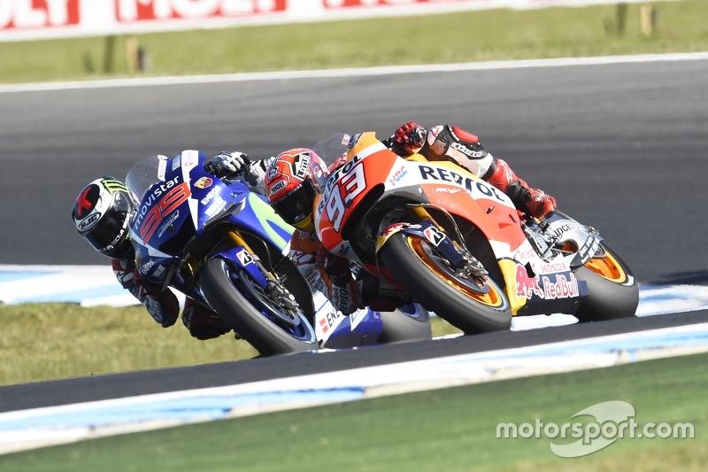 Марк Маркес, Repsol Honda Team та Хорхе Лоренцо, Yamaha Factory Racing