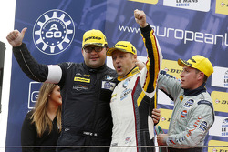 GTC podium: winner Andy Priaulx, BMW Team Marc VDS