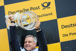 Championship podium: Jens Marquardt, BMW Motorsport Director, winning manufacture