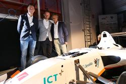 Nicky Catsburg, Xavier Maassen en Jan Lammers