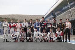 Drivers group shot