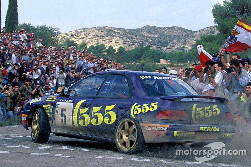 Carlos Sainz and Luis Moya, Subaru World Rally Team