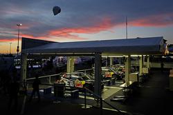 Зона команды Volkswagen Motorsport