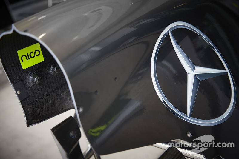 Mercedes AMG F1 W06 detayı