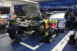 Volkswagen Motorsport team area