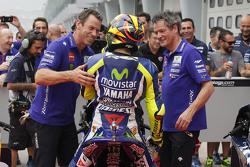 Третье место - Валентино Росси, Movistar Yamaha MotoGP