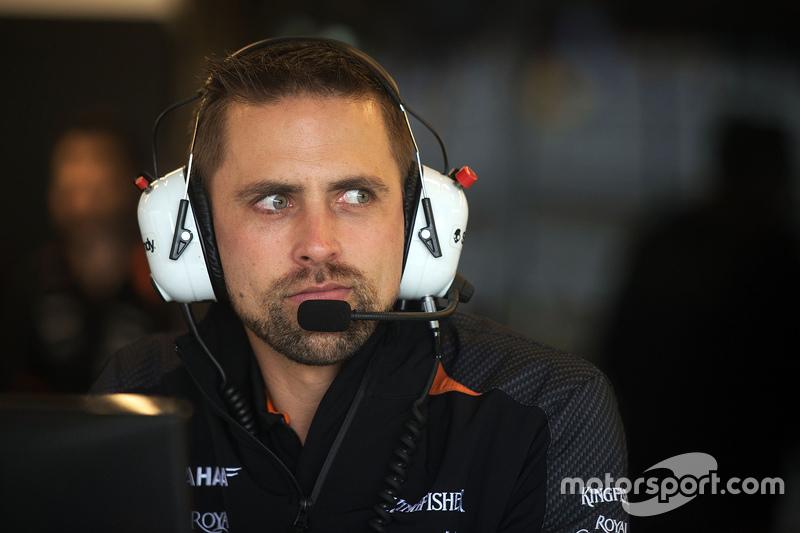 Mark Gray, Sahara Force India F1 Team