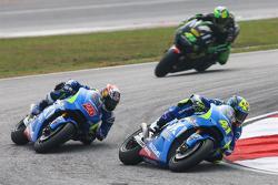 Алеш Эспаргаро, Team Suzuki MotoGP и Маверик Виньялес, Team Suzuki MotoGP