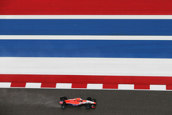 Alexander Rossi, Manor Marussia F1 Team in the qualifying session