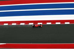Sebastian Vettel, Ferrari SF15-T in the qualifying session