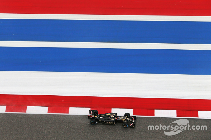 Pastor Maldonado, Lotus F1 E23 in the qualifying session
