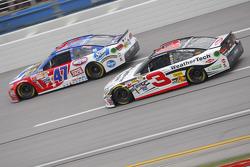 Austin Dillon, Richard Childress Racing Chevrolet and A.J. Allmendinger, JTG Daugherty Racing Chevrolet