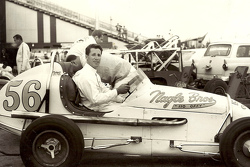 Mario Andretti at CNE Speedway in Toronto in USAC midget