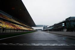 Circuito Internacional de Shanghai parrilla de salida