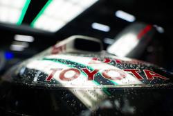 Une voiture du Toyota Racing