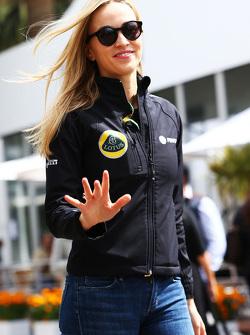 Кармен Хорда, пилот по разработке Lotus F1 Team