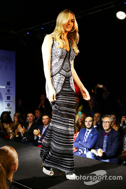 Carmen Jorda, Lotus F1 Team Development Driver at the Amber Lounge Fashion Show