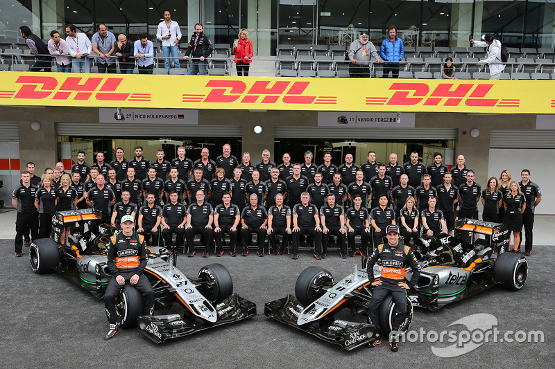 Ніко Хюлкенберг, Sahara Force India F1 та Серхіо Перес, Sahara Force India F1