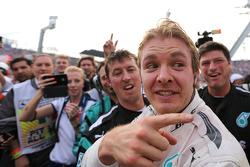 Победитель гонки - Нико Росберг, Mercedes AMG F1 Team