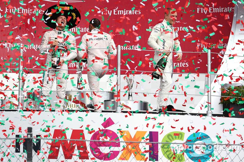 Гран При Мексики-2015: еще один подиум