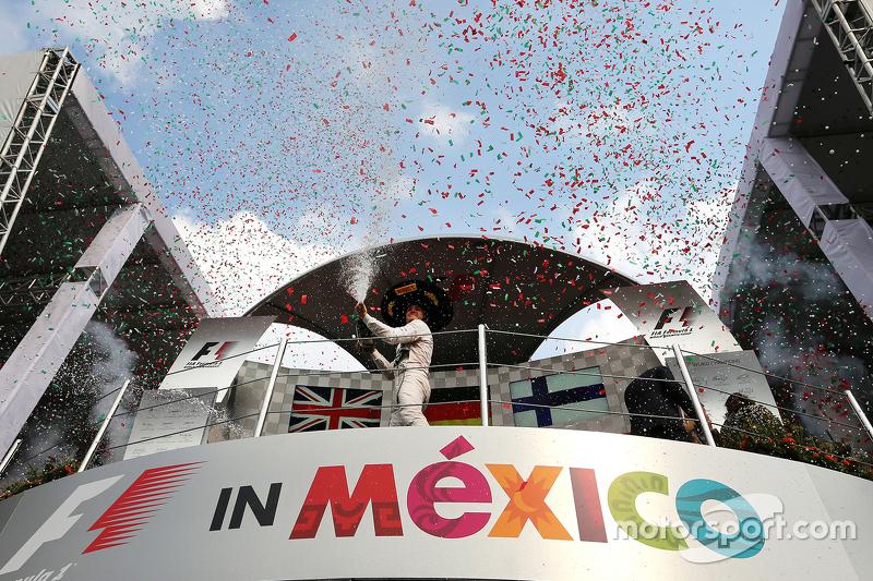 #1: Das Podium in Mexiko